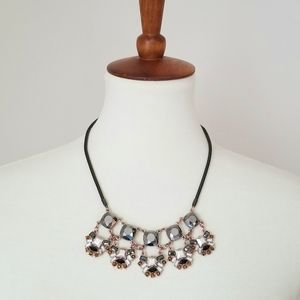 Pewter Statement Necklace